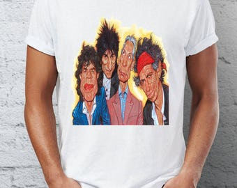 The rolling stones - rock - t-shirt