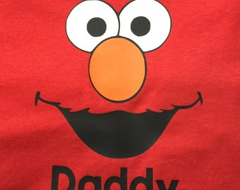 Elmo face adult size