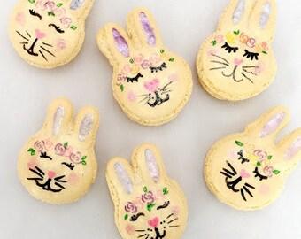 12 Bunny Macarons