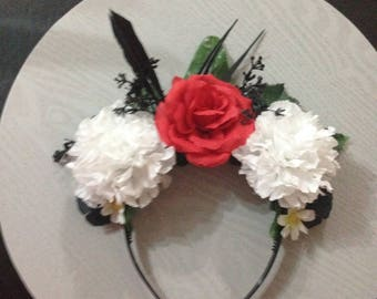 Portal Gun Turret inspired Flower Crown