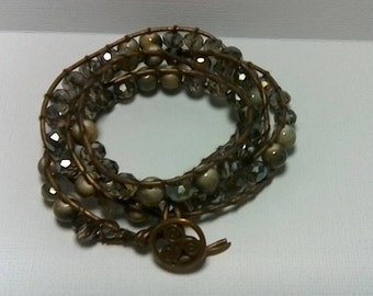 Lovely Handmade 3 Wrap Bracelet