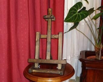 Painter square Kicovi table trestle color vintage colonial Walnut