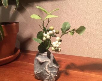 Alaska Stones Carved Into Vase