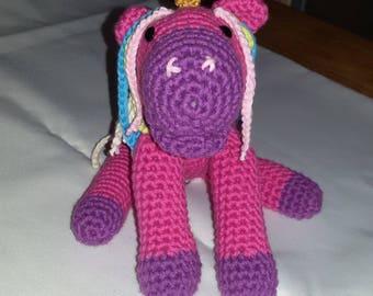 Unicorn self crochet