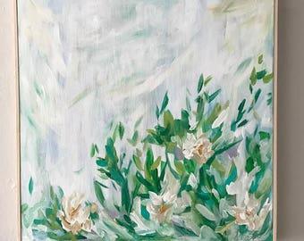 "Original Abstract Painting ""Jasmine"""