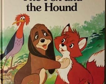 VTG The Fox and the Hound - Walt Disney Classic Series Hardcover 1988
