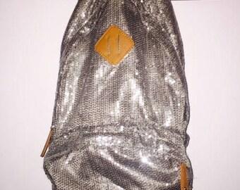 90s inspired Glitter backpack