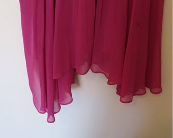 womens pink floaty dress