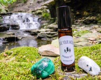 EASE YOUR MIND - Reiki-infused essential oil blend for headaches  10ml