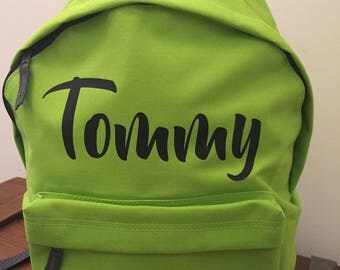 Childs Backpack - Personalised by You!