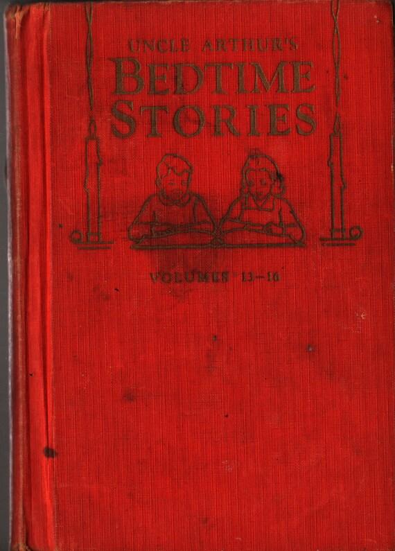 Uncle Arthur's Bedtime Stories Volumes 13 – 16 - Arthur S. Maxwell - 1942 - Vintage Kids Book