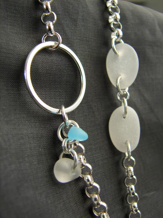 Vast sea glass necklace