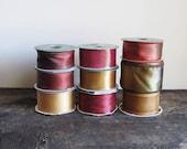 Assortment of Ribbon - Earth Tone Collection– Destash Lot