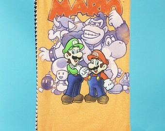 S Nintendo Tube Top - Mario Bros Tube Top - Handmade Video Game Shirt - Handmade Nintendo Shirt - Womens Nintendo Tube Top
