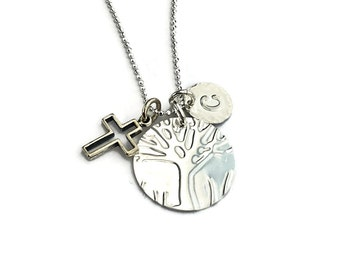 Mom 1 Child I am a child of God New Mom Gift Set Motherhood growing family Mother one child mom one child Cross Cross Necklace mom gifts 