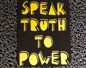 10 postcards Speak Truth to Power quaker quote question authority