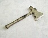 RESERVED for Anne Little Vintage Metal Hatchet