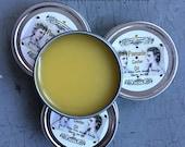 1869 Civil War Castor Oil Pomade Hair Wax, Gell, Pomatum, Pomade
