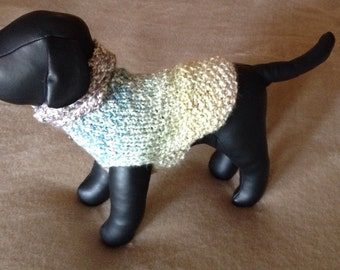 Pastels Chihuahua Dog Sweater.