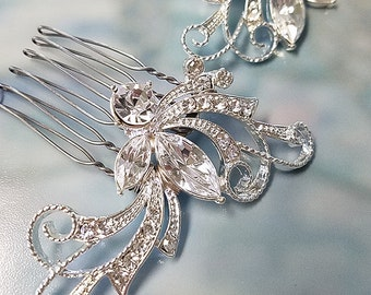Wedding Hair Comb, Crystal Comb, Wedding Headpiece, Bridesmaid Gift, Wedding Accessories, OOAK