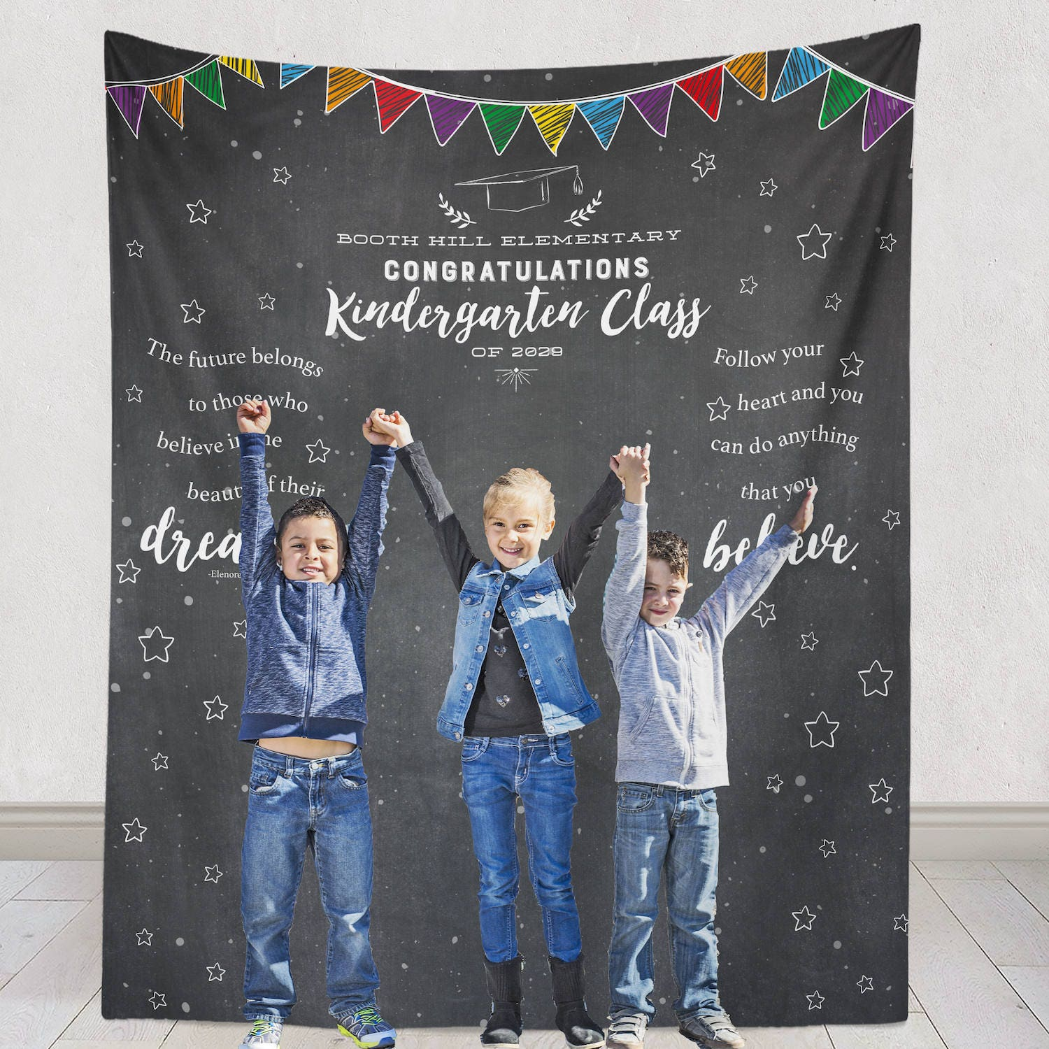 Kindergarten graduation backdrop kindergarten graduation - Kindergarten graduation decorations ...