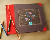 Our Adventure Book · UP · Wedding Journal · Wedding Photobooth Album / Guest Book · Anniversary Scrapbook · Adventure Travel Book