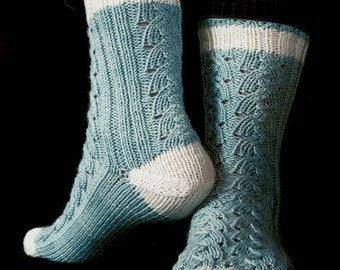 Muldrow Socks Knitting Pattern - PDF