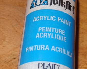 FolkART ACRYLIC PAINT peinture Acrylique Pintura Acrilica 2fl oz 59ml PLAID new 1 available