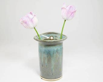 Wall Pocket - 20%Off Close Out - Wall Vase - Hanging Wall Pocket - Wall Mounted Vase - Hanging Wall Vase - Wall Flower Vase - In Stock