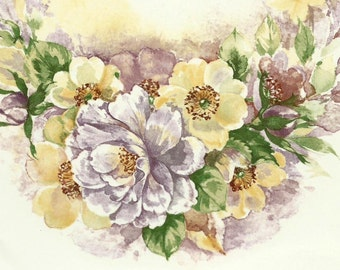 Decals for Ceramic, vintage, floral,- BULK LOT
