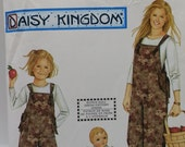 Daisy Kingdom Overall Pattern Simplicity 9920 Overalls and Doll Romper 18 inch Doll Romper Pattern Out of Print Pattern