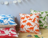 Dinosaur Print Cushion