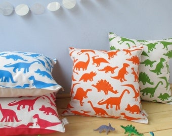 Dinosaur Print Cushion