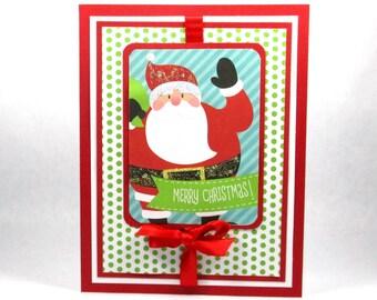 Christmas card, christmas ornaments, embossed christmas, elegant christmas