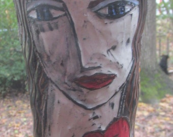 City Angel vase