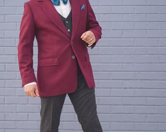 Cherry Red Detective Blazer