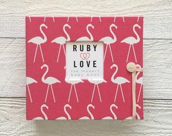 Pink Flamingos | BABY BOOK