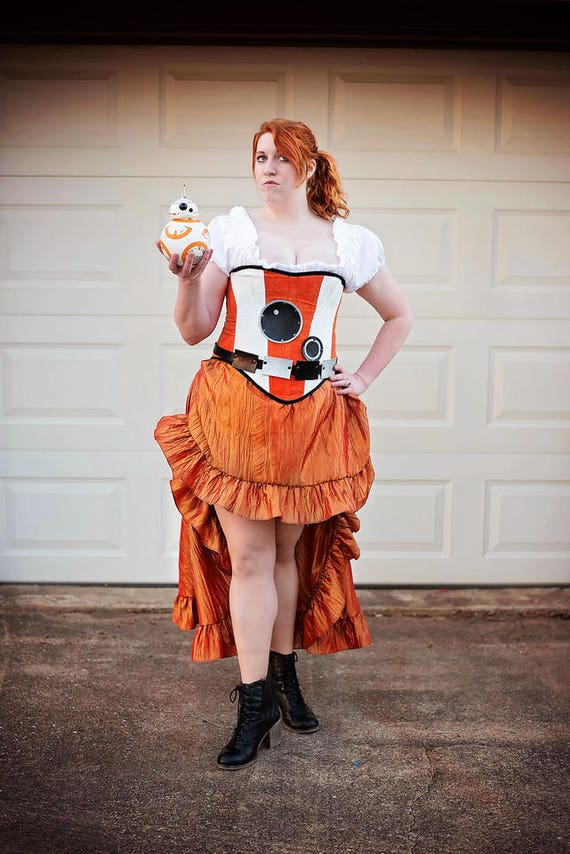 BB-8 Inspired Steampunk Dress