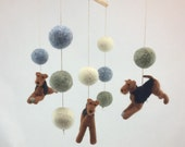 Custom Airedale Mobile for Emily 2 of 2
