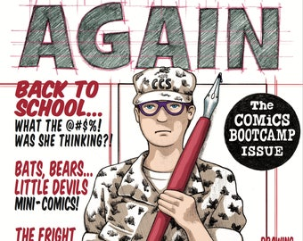 BEGIN AGAIN #1 - The Comics Bootcamp Issue (Comic Magazine) pdf