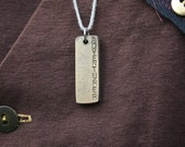 Brass Steampunk Jewellery. Neovictorian hardwearing, tough pendants and tags for adventurers, alchemists, airship crews, inventors.