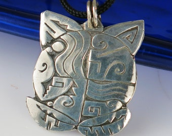 Native American Turtle KeyRing Charm - Kiln Fired Fine Silver Turtle with Sterling Silver Key Ring - Southwest Tortuga Sterling Silver Gift
