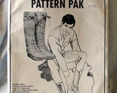 Sale Plainsman Boot Pattern Pack Costume Boot Pattern