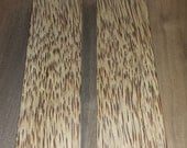 Exotic Red Palm Wood Woodturning Blanks - Reel Seats - Spindles - Crafts - 2 pieces