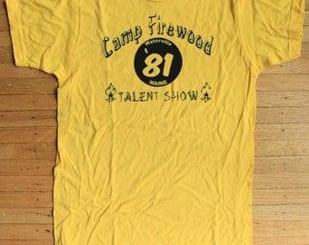 Camp Firewood Wet Hot American Summer Shirt