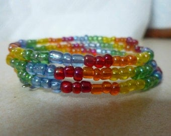 Memory wire rainbow