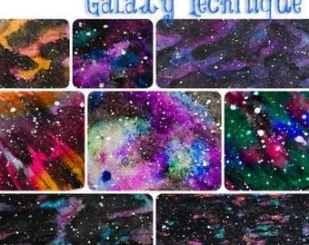 Polymer Clay Galaxy Tutorial - Learn How to Make a Galaxy on Polymer Clay