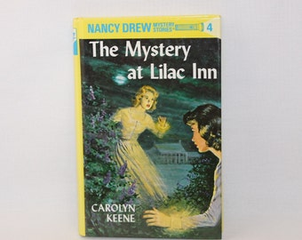 Nancy Drew Mystery Stories - The Mystery at Lilac Inn - 1995 Printing  (126-2b)