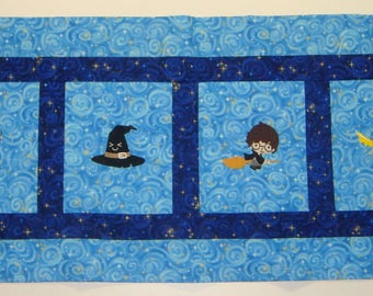 Custom Embroidered Harry Potter Window Valance  - choose the fabrics - Payments accepted - many characters to choose from