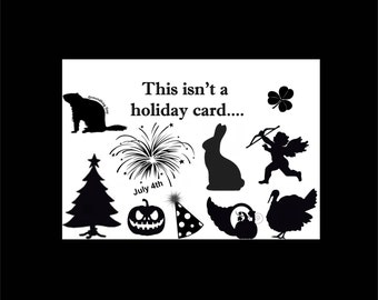 Inmate Card, Prison Greeting Card, Holiday Card, Funny Prison Card, Humorous Card, Jail Card, Incarceration Card, Prison Humor Card, Convict